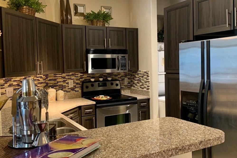 kitchen cabinet refaced shaker doors espresso brown