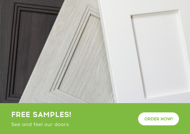 Free cabinet door style and color sample form